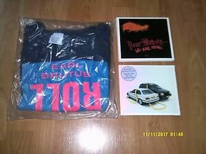 EARL-BRUTUS-SPECIAL-ONE-2xCD-YOUR-MAJESTY-2xCD-T-SHIRT