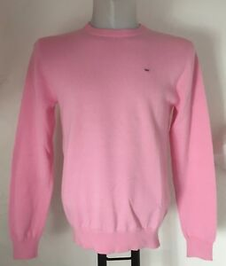 PINK-CREW-NECK-PULLOVER-BY-EDEN-PARK-SIZE-MEN-039-S-SMALL-BRAND-NEW-WITH-TAGS