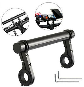 Bike Extension Frame Aluminum Alloy Carbon Fiber Bicycle Rack Round Support Tube