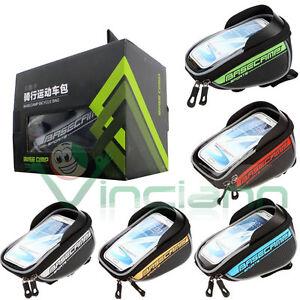 Borsa custodia bicicletta bici touch per smartphone Apple iPhone X 10 Ten XS EC5