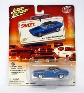 Johnny-Fulmini-1970-Dodge-Challenger-Dolce-Pressofuso-Auto-Moc-Completo-2004