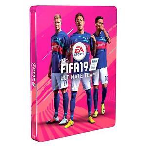 FIFA 19 STEELBOOK EDICION LIMITADA PS4/PS3/XBOX - (NO INCLUYE JUEGO) NUEVO