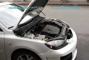 0408 Mazda3 Mazda 3 MPS3 Hatchback 5 Door Carbon Fiber Strut Hood