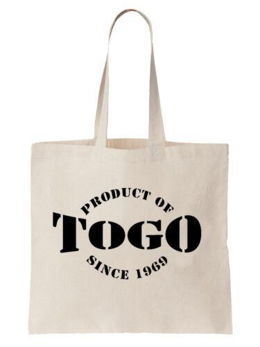 Personalisiert Togo Jahr Geburtstag Tragetasche Togoischer Country Geschenk