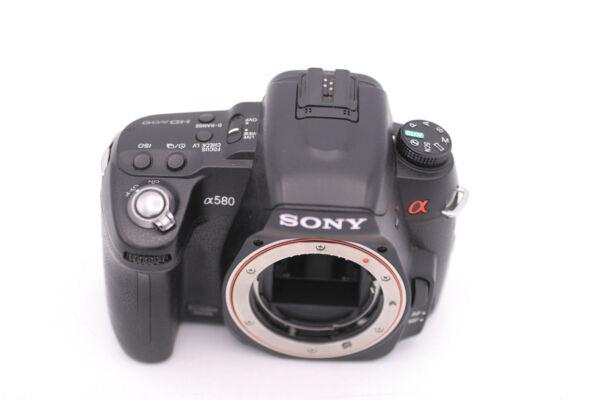 Marque Populaire Sony Alpha Dslr-a580 16.2 Caméra Slr Numérique Mp - Noir (corps Seulement Haute Qualité