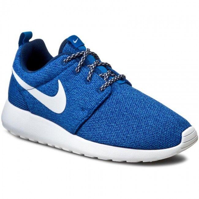 Nike Damenss Roshe Leinen One Neu Gr:36,5 Blau Leinen Roshe Stoff 844994-400 free presto 7ad460