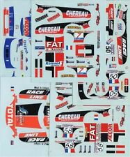 LOT DECALS 1/43 CHRYSLER VIPER GTS-R PART 2 - COLORADO  DCV009