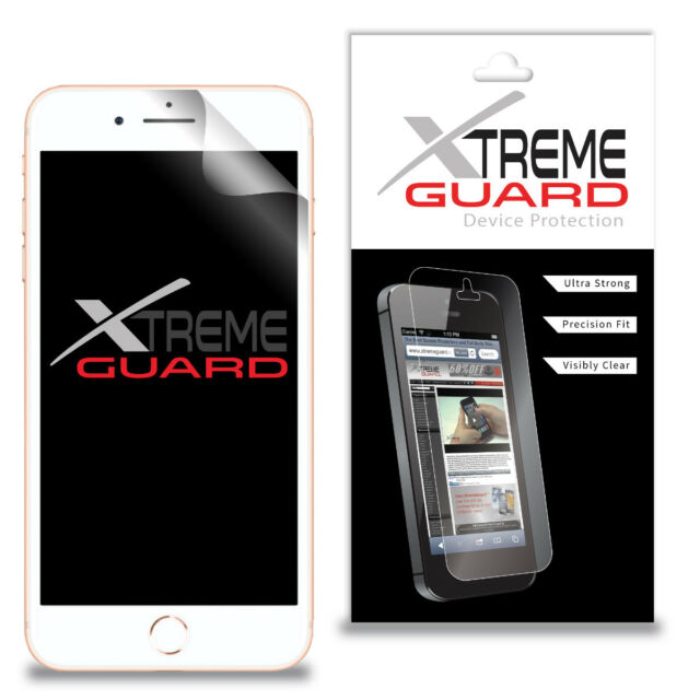 XtremeGuard Screen Protector For iPhone 8 Plus (Anti-Scratch)
