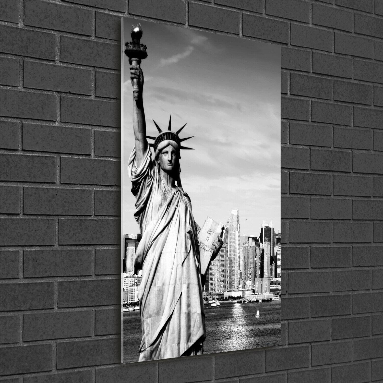 Wandbild Druck auf Plexiglas® Acryl Hochformat 50x100 Freiheitsstatue