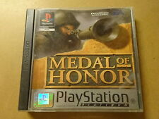 PS1 GAME / MEDAL OF HONOR - PLATINUM (PLAYSTATION 1)