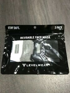 Levelwear-Initiative-Level-2-Guard-Dual-Layer-Face-Mask-Pack-of-3-Coloured