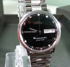 MIDO Commander Ocean Star Automatic 4925, Black Dial wrist watch, slight scratch