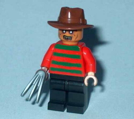 s MOVIE #05 Lego Classic Horror Nightmare on Elm Street FREDDY KRUEGER Authentic