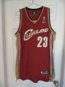 Lebron James Cavaliers Reebok Jersey 2003-2009. XL OR XXL. All ...