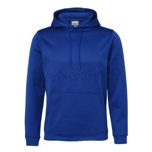 AWDis Just Hoods Mens Womens Sports Polyester Hoodie