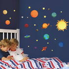 Planets Solar System Removable WALL ART DECOR Mural Home Decal Kids Room STICKER