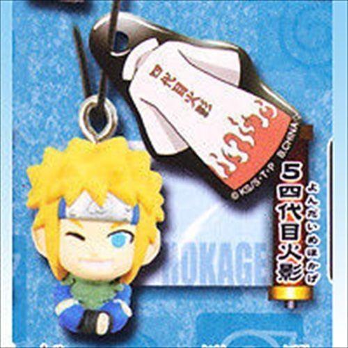 Bandai Naruto Shippuden Phone Strap Screan Cleaner Mini Figure