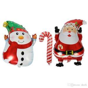 Christmas-Santa-Claus-Snowman-Candy-Cane-Balloon-Aluminum-Foil-Xmas-Balloons