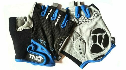 Men Cycling Gloves Bike //wheelchair //Bicycle Gel Padded Fingerless Sports TNQ uk