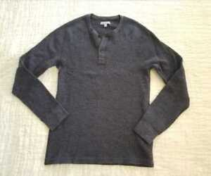 UNOPENED NWT J LARGE L CREW MEN/'S $65 WALLACE /& BARNES THERMAL HENLEY