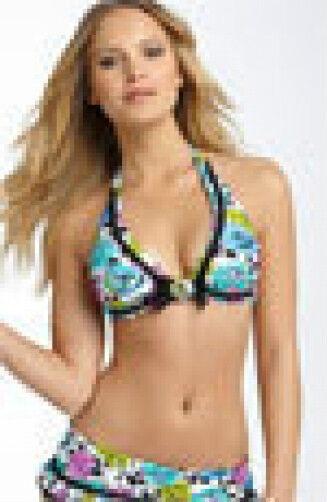 BETSEY JOHNSON Petal Pusher Bikini Swimsuit  NWT  S  XS