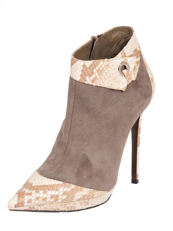 Gianmarco Lorenzi Suede Italian Boots New Sizes 6,7,8