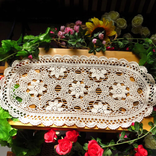 Amazing Oval Table Runners Tablecloths Dining Living Room Table Decorations EA7Z