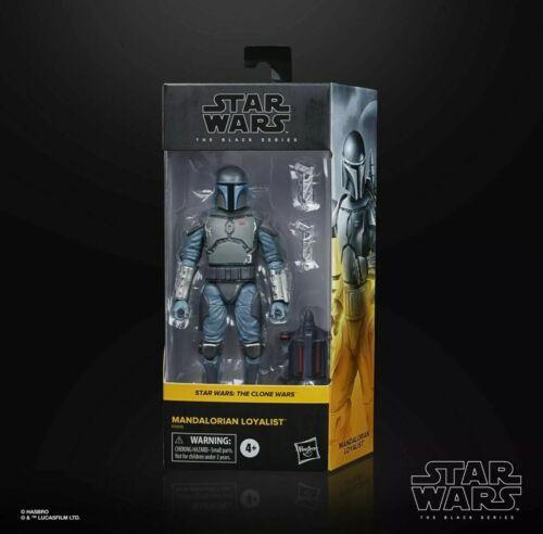 Hasbro Star Wars Black Series Mandalorian Loyalist 6 Inch Clone Wars In Hand
