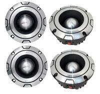 4) Lanzar Optibt44 2400w Optidrive Heavy Duty Aluminum Super Bullet Tweeters