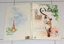 MINOU Mindy Bingham - Illustrazioni ITOKO MAENO AMZ 1987 GATTO