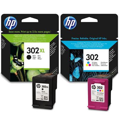 HP 302XL Original Black & 302 Standard Colour For DeskJet ...