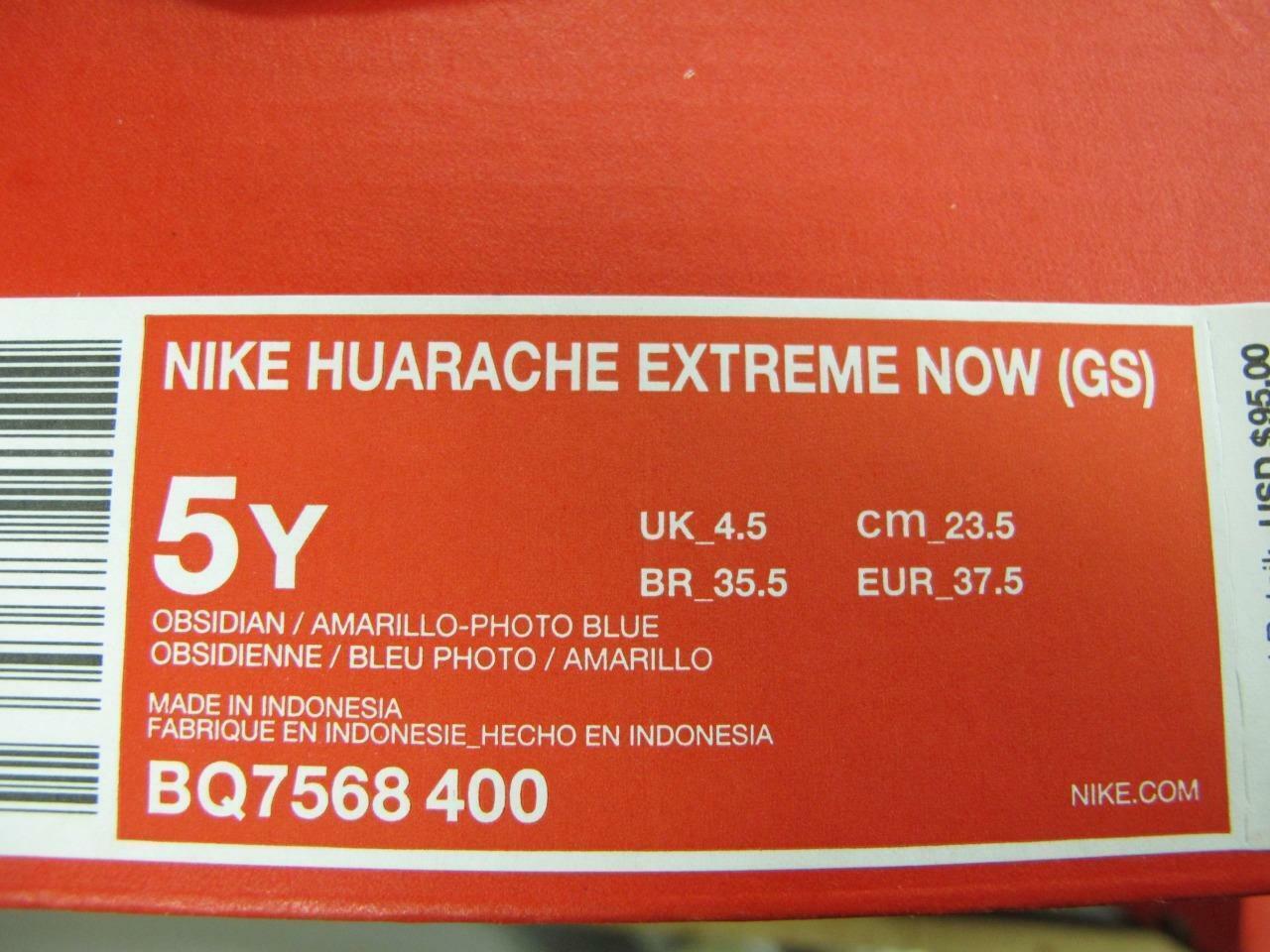 NEW JUNIORS NIKE HUARACHE HUARACHE HUARACHE EXTREME NOW BQ7568-400 3dafac