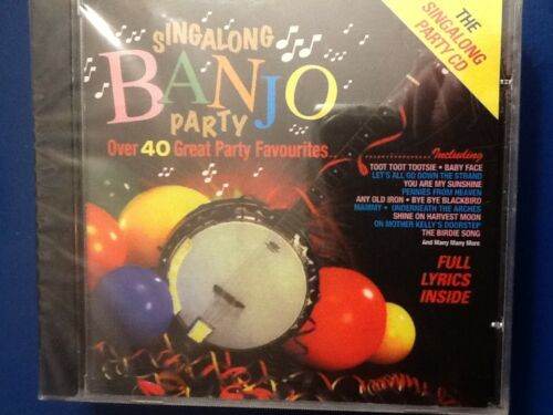 1 of 1 - SING A LONG.  BANJO.  PARTY.              OVER. FORTY. GREAT. PARTY. FAVOURITES