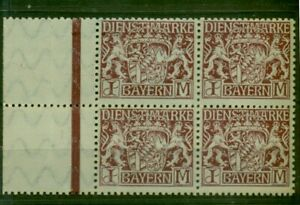 Baviera, Leoni Stemma n. D 29 post freschi ** sistema di quattro margini Bug