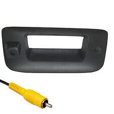 Silverado Sierra Black Tailgate Handle Backup Camera 2007-2013 w/ KEY HOLE PLUG