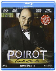 Agatha Christie S Poirot Season 13 New Cult Blu Ray 2 Disc Set David Suchet Ebay