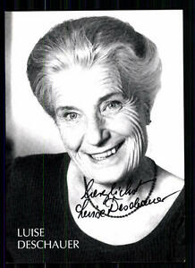 Luise-Deschauer-Autogrammkarte-Original-Signiert-TOP-BC-1383