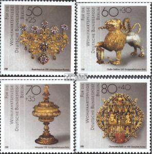west 818-821 Postfrisch 1988 Wohlfahrt kompl.ausgabe Berlin
