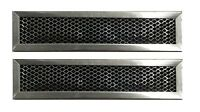 Ge General Electric Jx81d Wb02x10943 Microwave Charcoal Filter Hood - 2 Pack