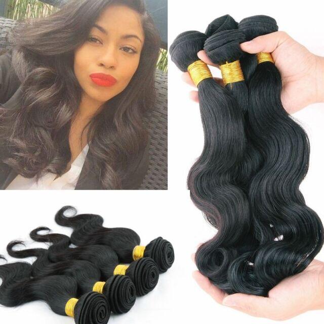 4 Bundles Brazilian Virgin Remy Hair Body Wave Human Hair Weave