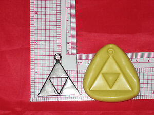 Legend of Zelda Logo Silicone Mold Cake Decoration Chocolate Resin A658 Candy