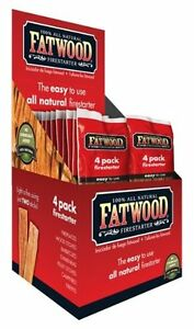 104 Fatwood Fireplace Barbecue Wood Stove Firestarter