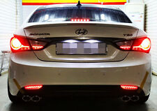 New Safety LED Rear Bumper Reflector lamp for Hyundai Sonata / i45 2011-2013