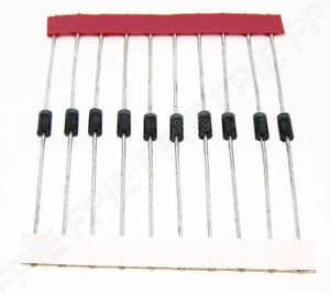 Lot-of-10-1N4935RL-200V-1A-Rectifier-Diode-Motorola