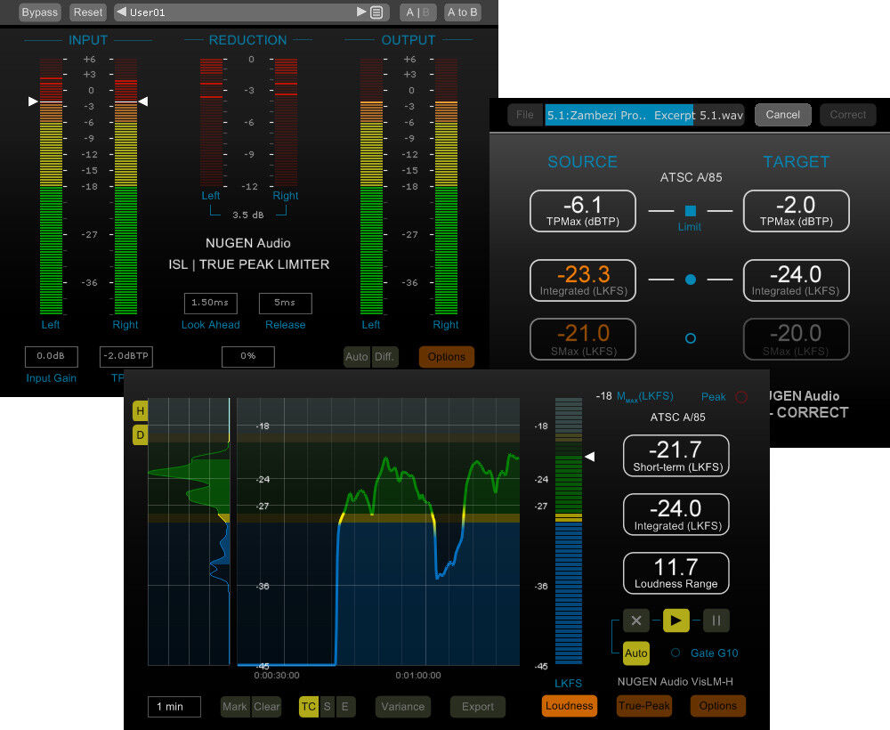 NUGEN Audio Loudness Toolkit 2 DSP (Electronic Delivery) - Authorized Dealer