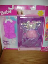 Lot of 4 ~  Different Barbie  Fashions  ~  new on cards FREE SHIPPING