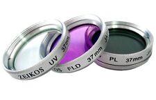3PC (UV + POLARIZER + FLD) HD GLASS FILTER FOR SANYO VPC-FH1 VPC-TH1 VPC-FH1A