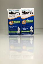 Bausch Lomb Alaway Allergy Eye Itch Relief Drops Antihistamine 10ml (2 Pack) D