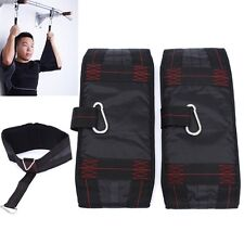 Ab Abdominal Sling Strap Hanging Chin Sit Up Bar Pullup Heavy Exercise Fitness