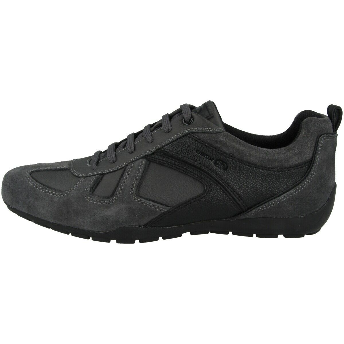 Geox U Ravex D shoes Men Mens Sneaker Low shoes Anthracite U923FD022BUC9211